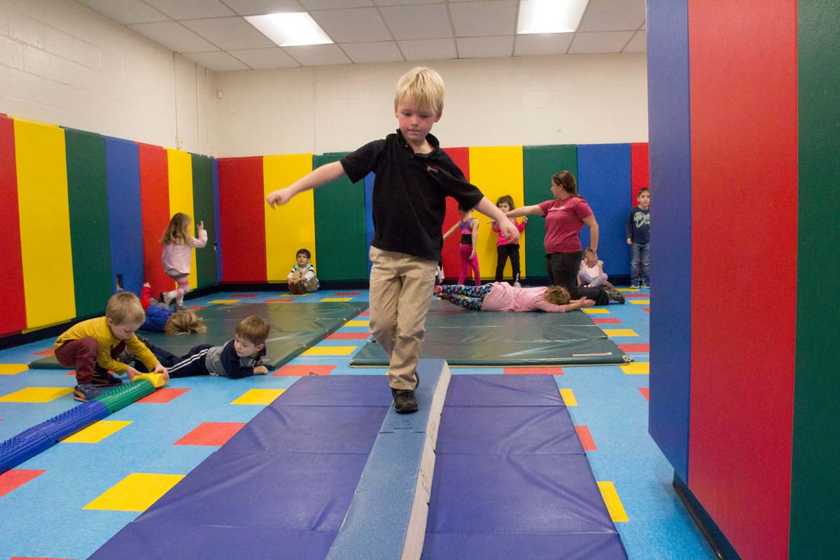 Preschool Gym Class